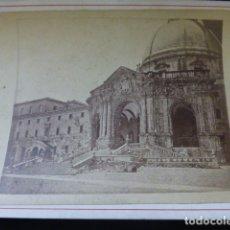 Fotografía antigua: LOYOLA GUIPUZCOA ALBUMINA SIGLO XIX 10,4 X 13,7 CMTS MONTADA SOBRE CARTON. Lote 166138202