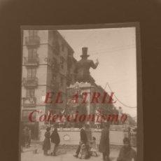 Fotografía antigua: VALENCIA - FALLAS - CLICHE NEGATIVO EN CELULOIDE - AÑOS 1930-50. Lote 166304078