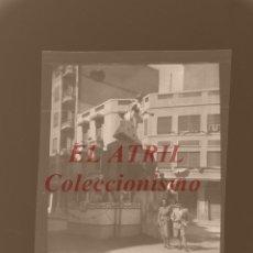 Fotografía antigua: VALENCIA - FALLAS - CLICHE NEGATIVO EN CELULOIDE - AÑOS 1930-50. Lote 166304646