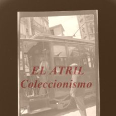 Fotografía antigua: VALENCIA - FALLAS - CLICHE NEGATIVO EN CELULOIDE - AÑOS 1930-50. Lote 166305974