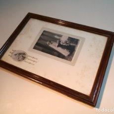Fotografía antigua: FOTOGRAFIA ALBUMINA SOBRE CARTON-NIÑA-COMUNION-..AÑOS 20------------------------- REF-DC. Lote 166383610