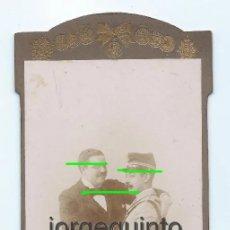 Fotografía antigua: EL ABRAZO. FOTÓGRAFO COMPAÑY. FUENCARRAL, 29. MADRID.. Lote 60671823