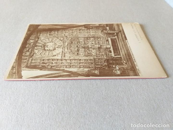 Fotografía antigua: LAURENT. ALBÚMINA. BURGOS. 1571. RETABLO DE LA IGLESIA DE SAN NICOLÁS - Foto 3 - 166785158