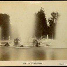 Fotografía antigua: VERSALLES - ALBUMINA - 1880'S . Lote 167613524