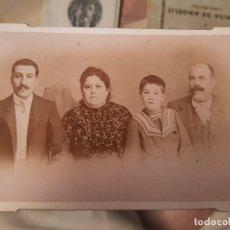 Fotografía antigua: ANTIGUA FOTOGRAFIA ALBUMINA SIN SELLO FOTOGRAFO ORIGEN MURCIA. Lote 168285772