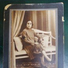 Fotografía antigua: ALICANTE FOTOGRAFÍA ESTUDIO LILLO Y CÍA, TORRIJOS, 103 RARO FOTÓGRAFO. Lote 168326545