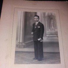 Fotografía antigua: PRECIOSA FOTOGRAFIA NIÑO COMUNIÓN VINTAGE ANTIGUA VALENCIA. Lote 168640624