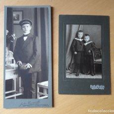 Fotografía antigua: DOS FOTOGRAFÍAS ALEMANAS CIRCA 1911. Lote 169663764