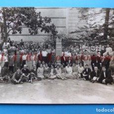 Fotografía antigua: VALENCIA, PERSONAL DE LA LITOGRAFIA SIMEON DURA - AÑOS 1930-40. Lote 170010288
