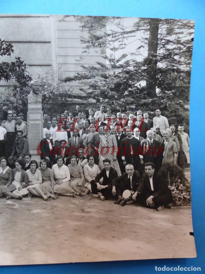 Fotografía antigua: VALENCIA, PERSONAL DE LA LITOGRAFIA SIMEON DURA - AÑOS 1930-40 - Foto 3 - 170010288