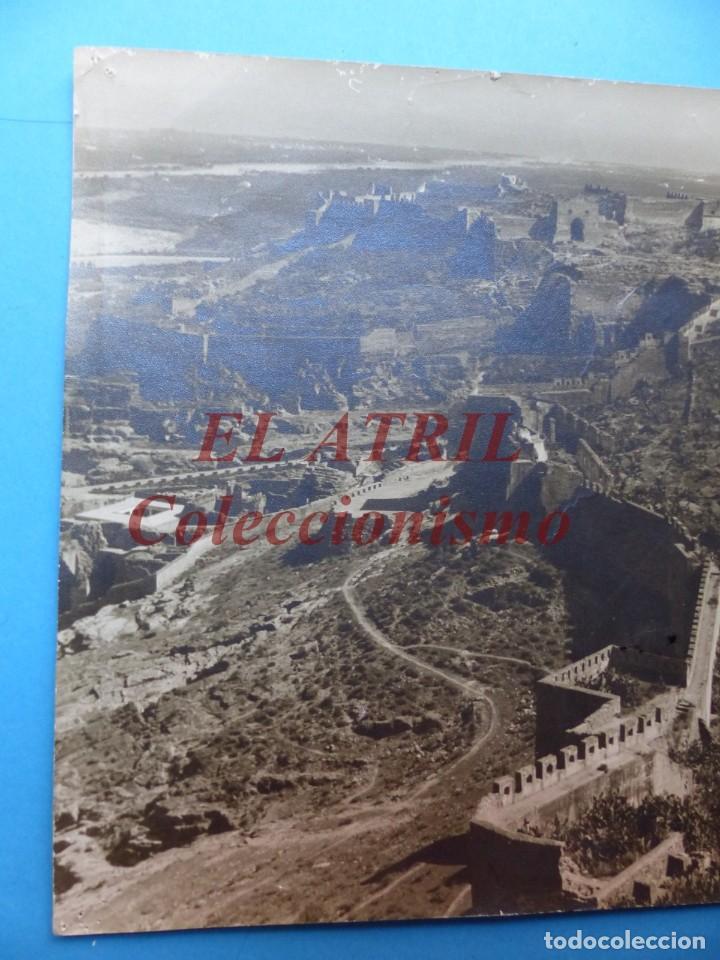 Fotografía antigua: SAGUNTO, VALENCIA, VISTA DEL CASTILLO - AÑOS 1930-40 - Foto 2 - 170010748