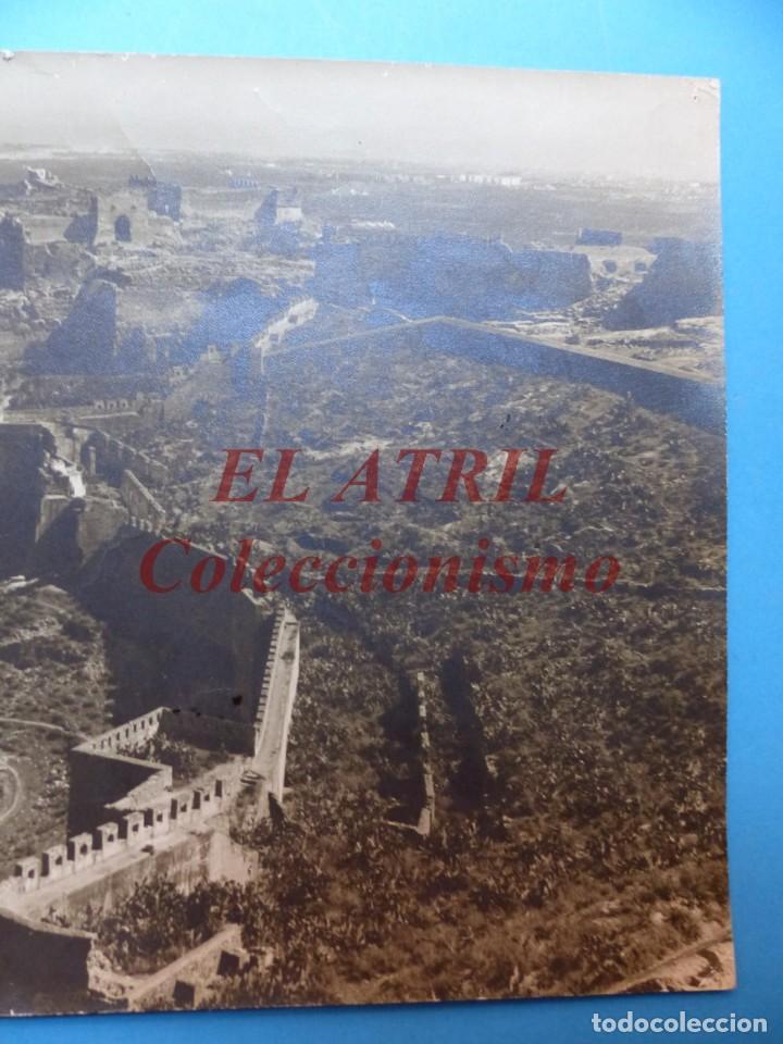 Fotografía antigua: SAGUNTO, VALENCIA, VISTA DEL CASTILLO - AÑOS 1930-40 - Foto 3 - 170010748
