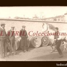 Fotografía antigua: UTIEL, VALENCIA, ALCOHOL VINO - CLICHE ORIGINAL - NEGATIVO EN CRISTAL - AÑOS 1910-1920. Lote 170173756