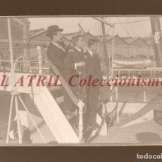 Fotografía antigua: VALENCIA, PUERTO - CLICHE ORIGINAL - NEGATIVO EN CRISTAL - AÑOS 1910-1920. Lote 170173928