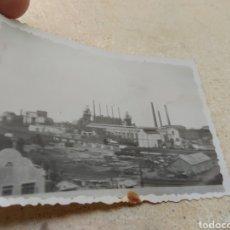 Fotografía antigua: FOTOGRAFÍA ALTOS HORNOS PUERTO SAGUNTO - VALENCIA - 1942 -. Lote 170187594