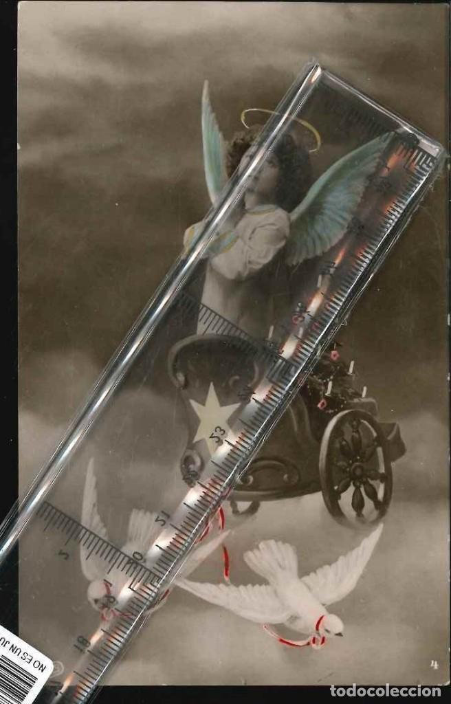 ESCENA INFANTIL 1915 (Fotografía Antigua - Albúmina)