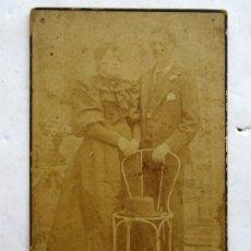Fotografía antigua: RETRATO – FOTO ANTIGUA – CIRCA 1890 . Lote 170527652