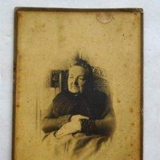 Fotografía antigua: RETRATO – FOTO ANTIGUA – CIRCA 1900. Lote 170527852