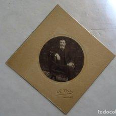 Fotografía antigua: RETRATO – FOTO ANTIGUA – A. VELA – CIRCA 1900. Lote 170528584