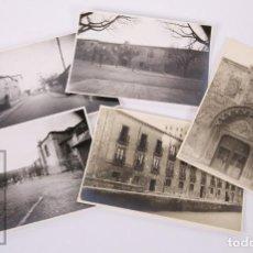 Fotografía antigua: 5 FOTOGRAFÍAS DEL HOSPITAL DE SAN JUAN, BURGOS - FOTO FEDE, AÑOS 40-50. Lote 170938530