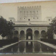 Fotografía antigua: ANTIGUA FOTOGRAFIA.PATIO ARRAYANES.ALHAMBRA.GRANADA FOTO GARZON Nº 108. . Lote 171061340