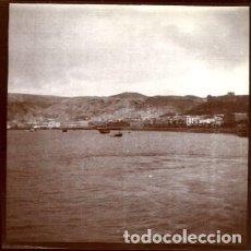 Fotografía antigua: CARTAGENA (MURCIA). HACIA 1890. VISTA DEL PUERTO. TOMADA POR VIAJERO FRANCÉS. ORIGINAL.. Lote 171441892