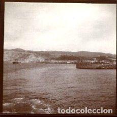 Fotografía antigua: CARTAGENA (MURCIA). HACIA 1890. LAS CAVERNAS DE LOS GITANOS. TOMADA POR VIAJERO FRANCÉS. ORIGINAL.. Lote 171442238