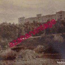 Fotografía antigua: GRAND HOTEL TAORO, TENERIFE. M. BAEZA FOTO 1900'S. 22X16 CMS. Lote 171665328