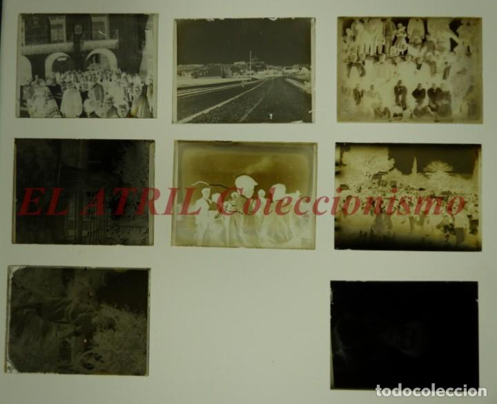 Fotografía antigua: ALCOY, ALICANTE, MOROS Y CRISTIANOS - 11 PLACAS NEGATIVOS EN CRISTAL Y EN CELULOIDE - AÑOS 1920-30 - Foto 2 - 171702214