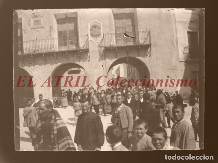 Fotografía antigua: ALCOY, ALICANTE, MOROS Y CRISTIANOS - 11 PLACAS NEGATIVOS EN CRISTAL Y EN CELULOIDE - AÑOS 1920-30 - Foto 3 - 171702214