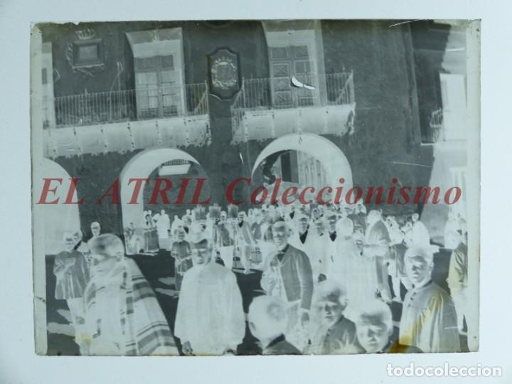 Fotografía antigua: ALCOY, ALICANTE, MOROS Y CRISTIANOS - 11 PLACAS NEGATIVOS EN CRISTAL Y EN CELULOIDE - AÑOS 1920-30 - Foto 4 - 171702214
