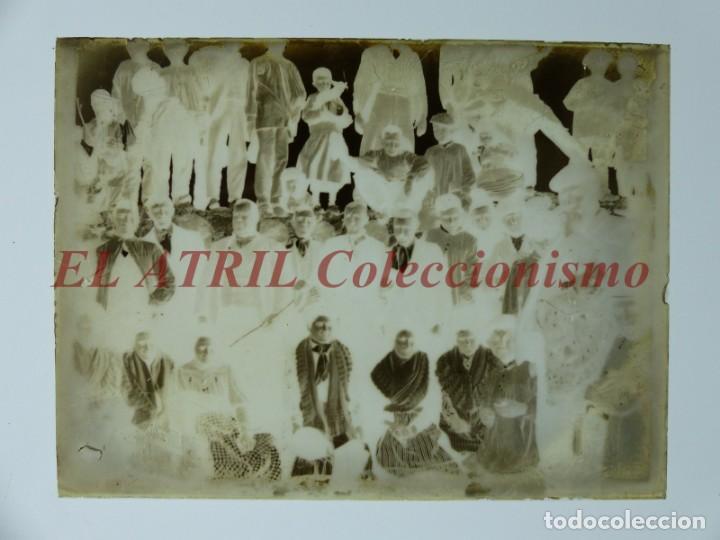 Fotografía antigua: ALCOY, ALICANTE, MOROS Y CRISTIANOS - 11 PLACAS NEGATIVOS EN CRISTAL Y EN CELULOIDE - AÑOS 1920-30 - Foto 8 - 171702214