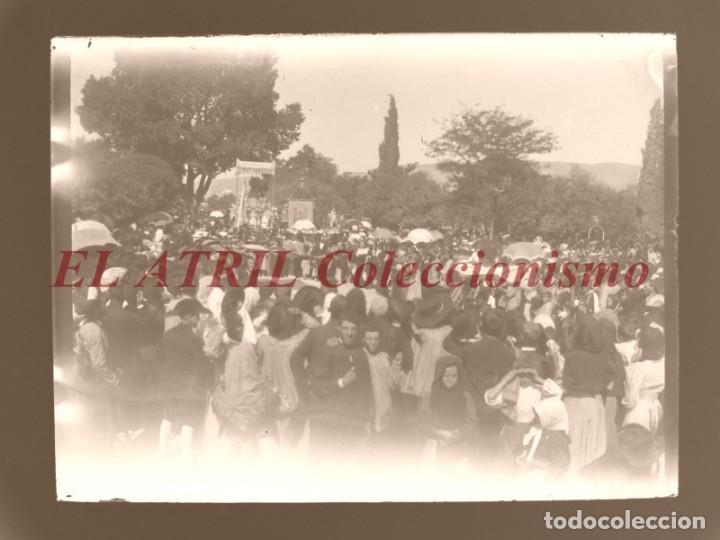 Fotografía antigua: ALCOY, ALICANTE, MOROS Y CRISTIANOS - 11 PLACAS NEGATIVOS EN CRISTAL Y EN CELULOIDE - AÑOS 1920-30 - Foto 9 - 171702214