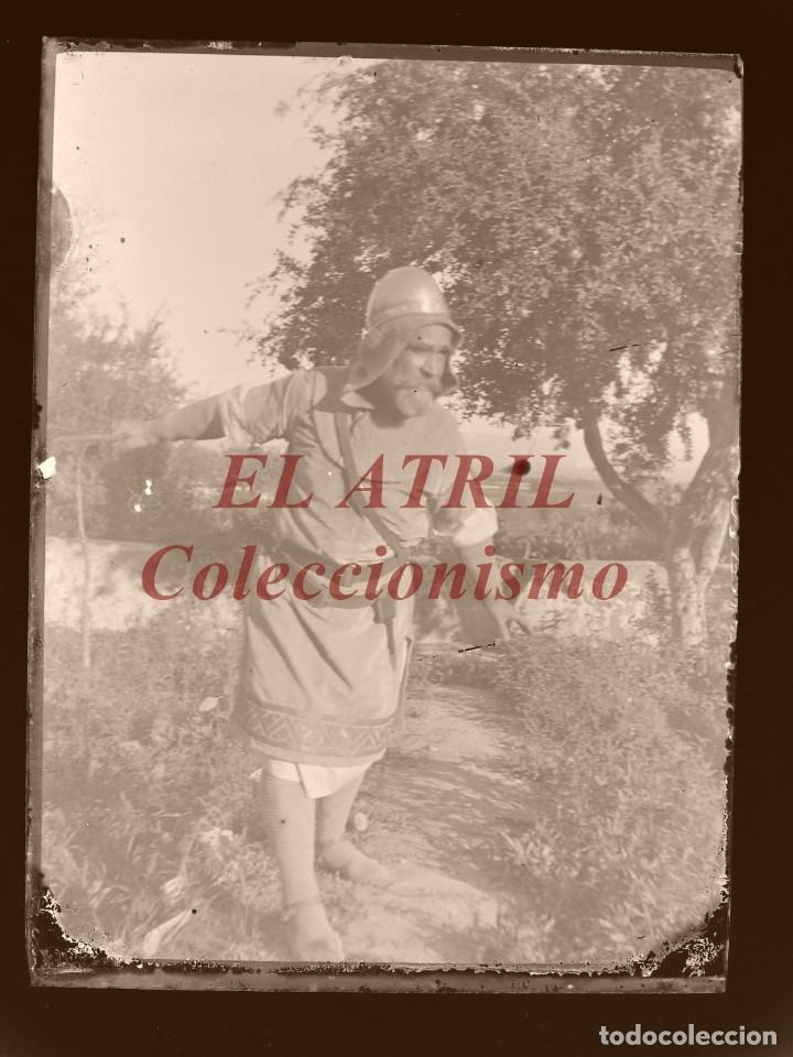 Fotografía antigua: ALCOY, ALICANTE, MOROS Y CRISTIANOS - 11 PLACAS NEGATIVOS EN CRISTAL Y EN CELULOIDE - AÑOS 1920-30 - Foto 15 - 171702214
