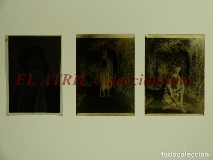 Fotografía antigua: ALCOY, ALICANTE, MOROS Y CRISTIANOS - 11 PLACAS NEGATIVOS EN CRISTAL Y EN CELULOIDE - AÑOS 1920-30 - Foto 20 - 171702214