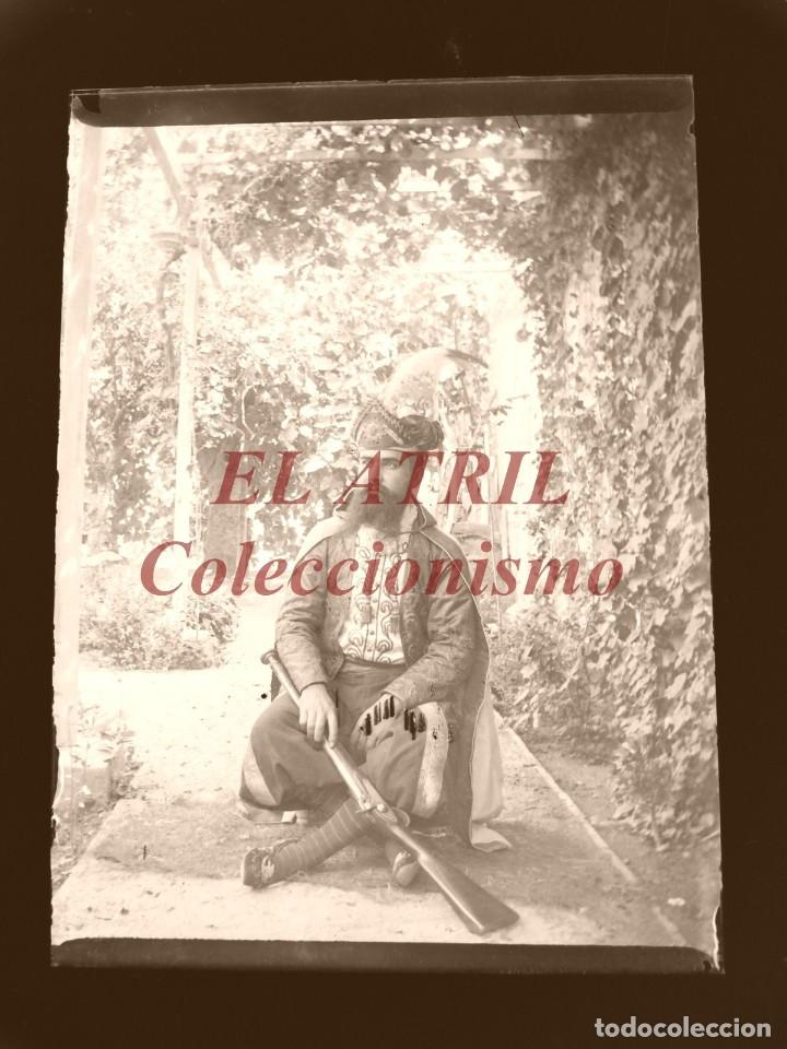 Fotografía antigua: ALCOY, ALICANTE, MOROS Y CRISTIANOS - 11 PLACAS NEGATIVOS EN CRISTAL Y EN CELULOIDE - AÑOS 1920-30 - Foto 21 - 171702214