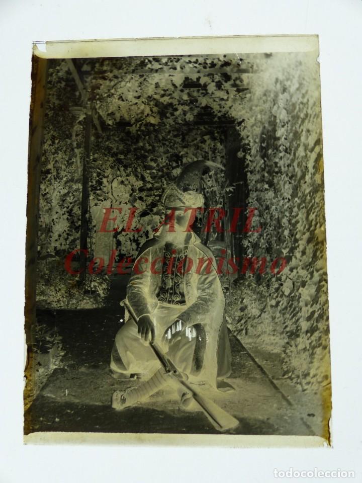 Fotografía antigua: ALCOY, ALICANTE, MOROS Y CRISTIANOS - 11 PLACAS NEGATIVOS EN CRISTAL Y EN CELULOIDE - AÑOS 1920-30 - Foto 22 - 171702214