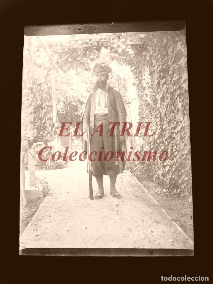 Fotografía antigua: ALCOY, ALICANTE, MOROS Y CRISTIANOS - 11 PLACAS NEGATIVOS EN CRISTAL Y EN CELULOIDE - AÑOS 1920-30 - Foto 23 - 171702214