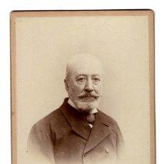 Fotografía antigua: FOTO CABINET - ESTUDIO FOTOGRÁFICO. ANTONIO GARCIA VALENCIA. Lote 171714899