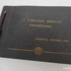 Fotografía antigua: LIBRO FOTOGRAFIAS ORIGINALES ANTIGUAS II JORNADAS MEDICAS VALENCIANAS 1954. Lote 171799267