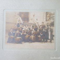Fotografía antigua: ZARAGOZA 1909 COLEGIO DEL SAGRADO CORAZON FOTOGRAFIA NOMBRES DE ALUMNAS VERONES FOTOGRAFO. Lote 172090964