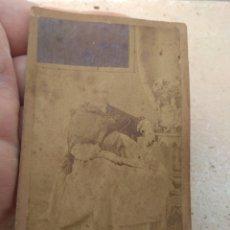 Fotografía antigua: ANTIGUA FOTOGRAFÍA ANCIANA - FEDERICO VELA - VALENCIA -. Lote 172918828