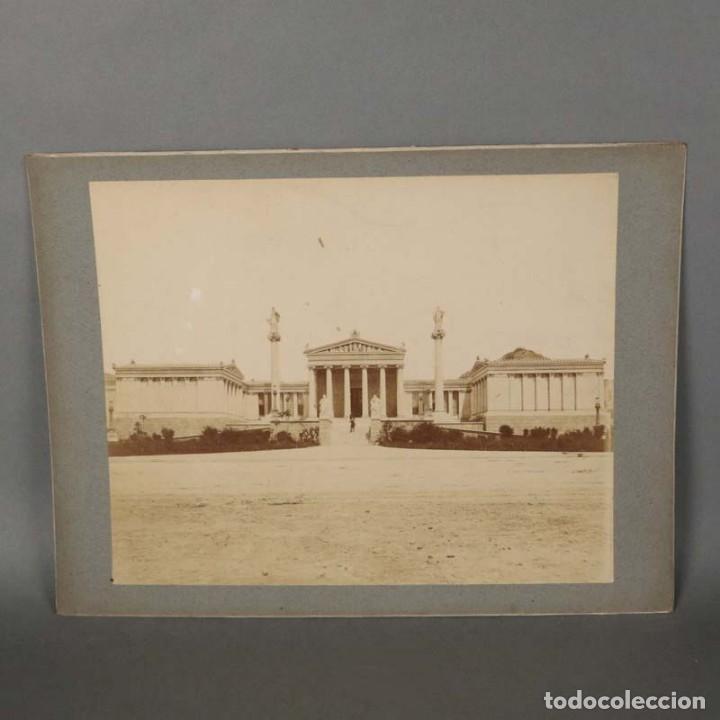 ITALY - ITALIA ? - ROM - ROMA? 1880 - 1900. FOTOGRAFÍA ANTIGUA - ALBÚMINA. 32 X 24 CM (Fotografía Antigua - Albúmina)