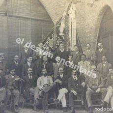 Fotografía antigua: TARRASSA. AGRUPACIÓ REGIONALISTA EGARENSE. 17 X 12 ALBÚMINA ORIGINAL CIRCA 1900. F. UBACH FOTÓGRAFO. Lote 173144540