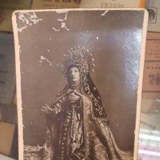 Fotografía antigua: ANTIGUA FOTOGRAFIA ALBUMINA SANTA TERESA DE JESUS AVILA. Lote 173894914