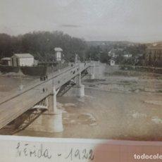 Fotografía antigua: LERIDA 1922. Lote 174047504
