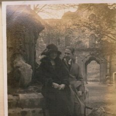 Fotografía antigua: MONESTIR SANTES CREUS. 1922. Lote 174066308