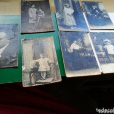 Fotografía antigua: LOTE DE 7 FOTOGRAFÍAS ANTIGUAS DE BARCELONA. FINALES SIGLO XIX. ESTUDIO LUMIERE, NIEPCE, J. ALONSO. Lote 174254768