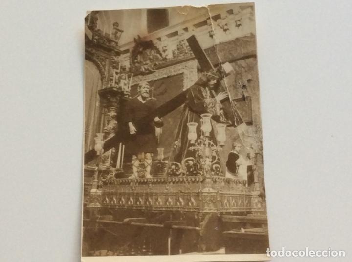 Fotografía antigua: Fotografía de la imagen de Jesus de Nazareno de Ocaña (Toledo) que desapareció en 1936 - Foto 2 - 174469024
