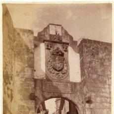 Fotografía antigua: 1870 - 1880 FOTOGRAFÍA ALBÚMINA FUENTERRABÍA HONDARRIBIA (GUIPÚZCOA). Lote 174531045